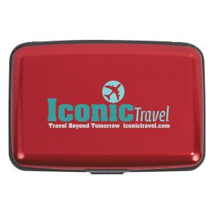 Reasonable Priced Full Color Identity Theft Protection Promotional Credit Card Case At Lowest Rate