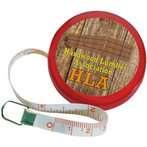 Sales-Priced Full Color Mini Round Logo Tape Measure - 5' At Lowest Price