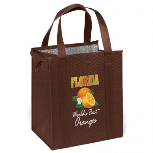 """Lowest Price Full Color Non-Woven Insulated Custom Tote Bag - 13""""w x 15""""h x 10""""d On Sale"""