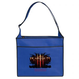 """Economical Produce Full Color Non-Woven Logo Tote Bag - 14""""w x 12""""h x 6""""d At Lowest Price"""
