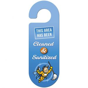 Cheap Manufacture Full Color Oval Custom Door Hangers Printing Supplier