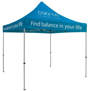 Best Full Color Premium Trade Show Booth Custom Tents - 10' Top Print Company