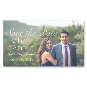 "Cheap Print Full Color Save-the-Date Custom Magnet - 7"" x 4"" Top Print Store"