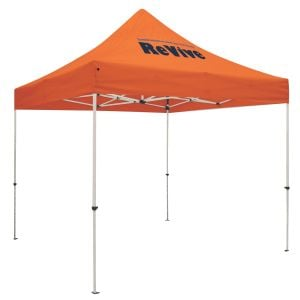 Buy in Bulk Full Color Standard Trade Show Booth Custom Tents - 10' Dependable Print Company