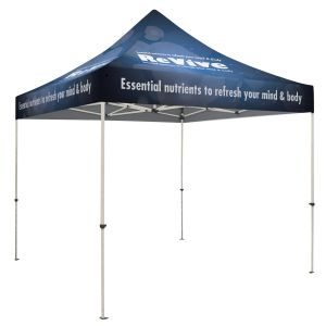 Purchase Full Color Trade Show Booth Custom Tent Kit - 10' At Low Offer