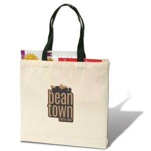 """Purchase Full Color Trade Show Giveaway Promotional Tote Bag - 11""""w x 14""""h x 5""""d Print Factory"""