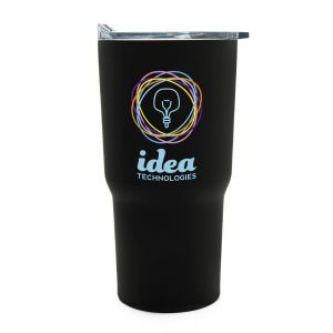 Order Full Color Triple Insulated Stainless Steel Tapered Custom Tumbler - 20 oz. Printing Manufacturer