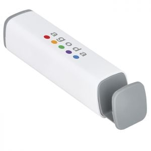 Cheap Produce Full Color UL Certified Custom Power Bank w/ Phone Stand - 2200 mAh Best Printing Supplier