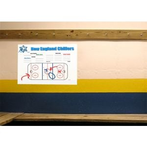 "Dependable Full Color Vinyl Stick-On Dry Erase Custom Posters - 12.5"" x 17.75"" Top Printing Store"