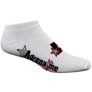 Lowest Price Full Cushion No-Show Custom Socks w/ Knit-In Logo - White Top Print Manufacturer