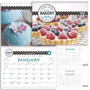 Buy in Bulk Full-Color 2-Month Spiral Bound Executive Custom Calendar Top Printing Supplier