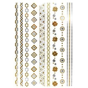 Gold Tattoo Stickers | Custom Transfer Tattoos
