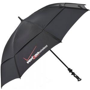 "Top Print Golf Custom Umbrella w/ Elastic Stretchers - 64"" Top Printing Manufacturer"