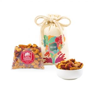Gourmet Berry Nut Mix Custom Snack Gift Bag