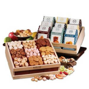 Cheapest Gourmet Cookie Custom Gift Crate At Low Rate