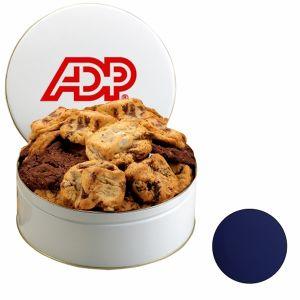 Buy in Bulk Gourmet Cookies in Custom Tins - Small Top Print Company