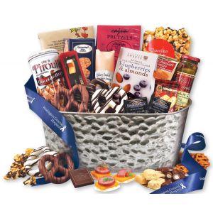 Purchase in Bulk Gourmet Favorites Custom Gift Baskets Dependable Print Supplier