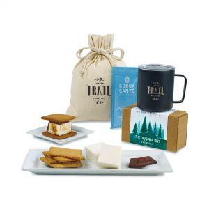 Best Print Gourmet S'mores & MiiR Campfire Mug Custom Gift Set At Lowest Offer