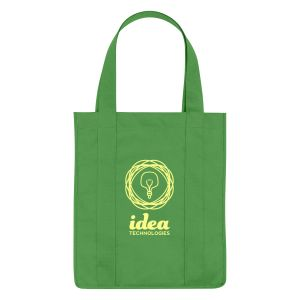 """Wholesale Grocery Non-Woven Custom Tote Bag - 13""""w x 15""""h x 10""""d Best Print Manufacturer"""
