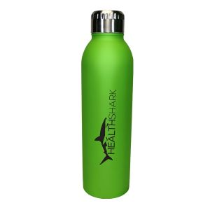 Economical Manufacture Halcyon Matte Rubberized Custom Bottle - 17 oz. Best Printing Store