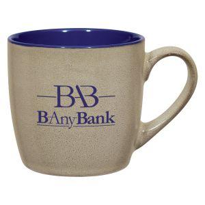 Wholesale Handcrafted Two-Tone Custom Stoneware Mug - 12 oz. Best Printing Store