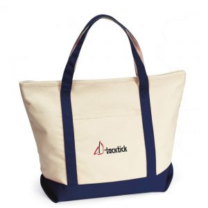 """Cheap Produce Harbor Cruise Branded Custom Boat Tote - 22""""w x 16""""h x 7""""d At Low Offer"""