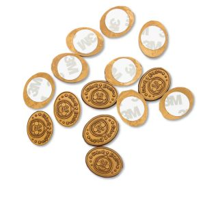 Gold Wax Seal Stickers | Personalised Seal Stickers