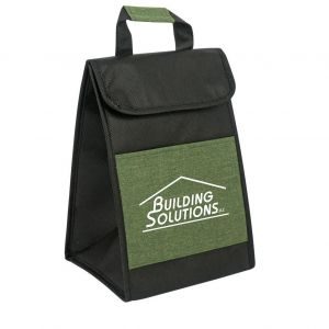 Cheap Produce Heather Accented Custom Lunch Bag Top Printing Store