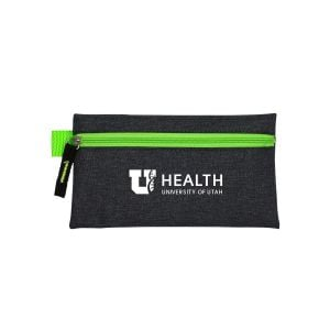 Wholesale Heather Zippered Custom Tech Pouch Best Printing Factory