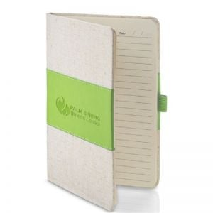 """Top Print Heathered Faux Leather Custom Journal - 5.63""""w x 8.37""""h Best Printing Manufacturer"""
