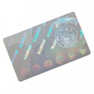 Custom Illinois Hologram Overlay Stickers | IL ID Hologram Overlay