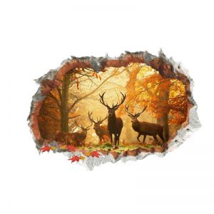 Jungle Wall Stickers | Bedroom Wall Art Stickers