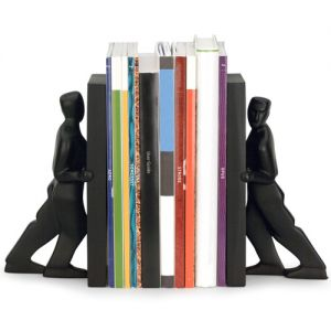 Order Kikkerland Pushing Men Promotional Bookends Best Printing Store