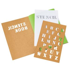 Personalized Kraft Custom Stencil Book Best Printing Factory