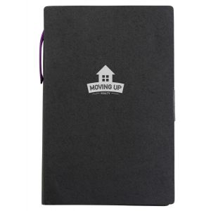 "Dependable Kraft Paper Custom Journals w/ Sticky Notes & Flags - 4""w x 6""h Best Printing Supplier"
