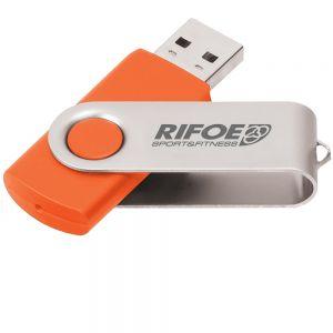 Cheapest Laser Engraved Swing Custom USB Flash Drives - 2GB Best Print Company