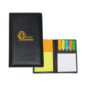 Cheap Leatherette Custom Sticky Notes and Flags Set Top Print Manufacturer