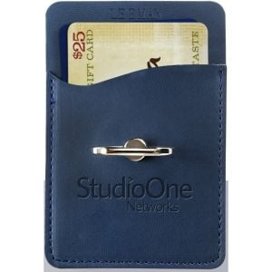 Sales-Priced LEEMAN NYC Tuscany Custom Cell Phone Wallet w/ Ring Phone Stand At Low Offer