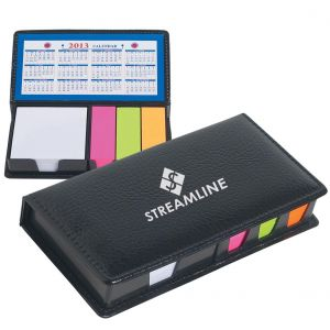 "Top Print Logo Desk Accessory w/ Calendar & Post Its - 7""w x 3.5""h Best Print Supplier"
