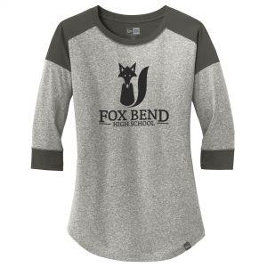 Cheap Produce New Era Heritage Blend 3/4 Sleeve Heather Custom Baseball Tee - Women's Top Printing Company