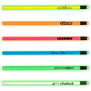 Purchase in Bulk Night Glow-in-the-Dark Printed Pencil At Lowest Price