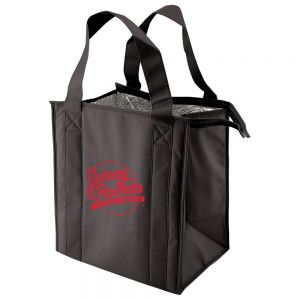 "Wholesale Non-Woven Thermal Insulated Promotional Grocery Tote - 12""w x 13""h x 8""d Best Print Company"