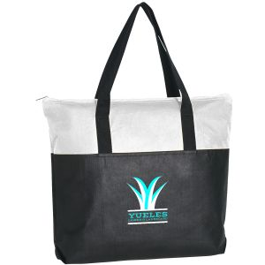 """Purchase Non-Woven Zippered Custom Tote - 18""""w x 15""""h At Lowest Offer"""