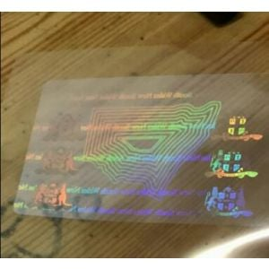 Custom New South Wales Hologram Overlay Stickers | NSW ID Hologram Overlay