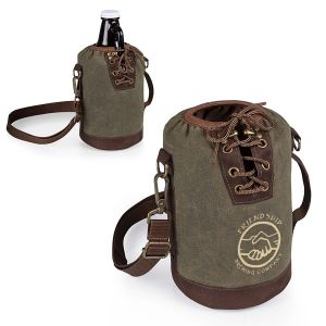 Economical Manufacture Picnic Time Custom Growler Tote Top Print Company