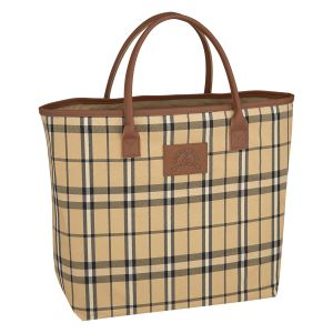 """Economical Produce Plaid Custom Tote Bag - 19""""w x 13.88""""h At Low Offer"""