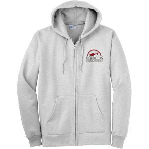 Cheap Produce Port & Company Ultimate Full Zip Custom Hooded Sweatshirt - Heathers Top Printing Supplier
