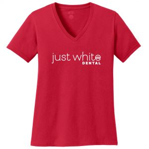 Dependable Port & Company V-Neck Custom T-Shirts - Women's - Dark Colors Dependable Print Supplier