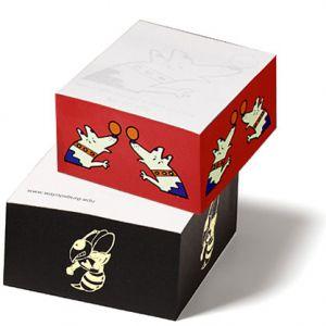 "Dependable Post-it Notes Custom Printed Half Promo Cube - 2.75"" x 2.75"" x 1.38"" Best Print Store"