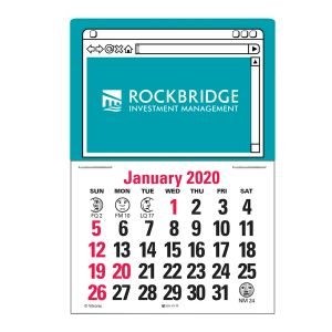 Economical Manufacture Press n' Stick Custom Calendar - Web Page Best Printing Factory